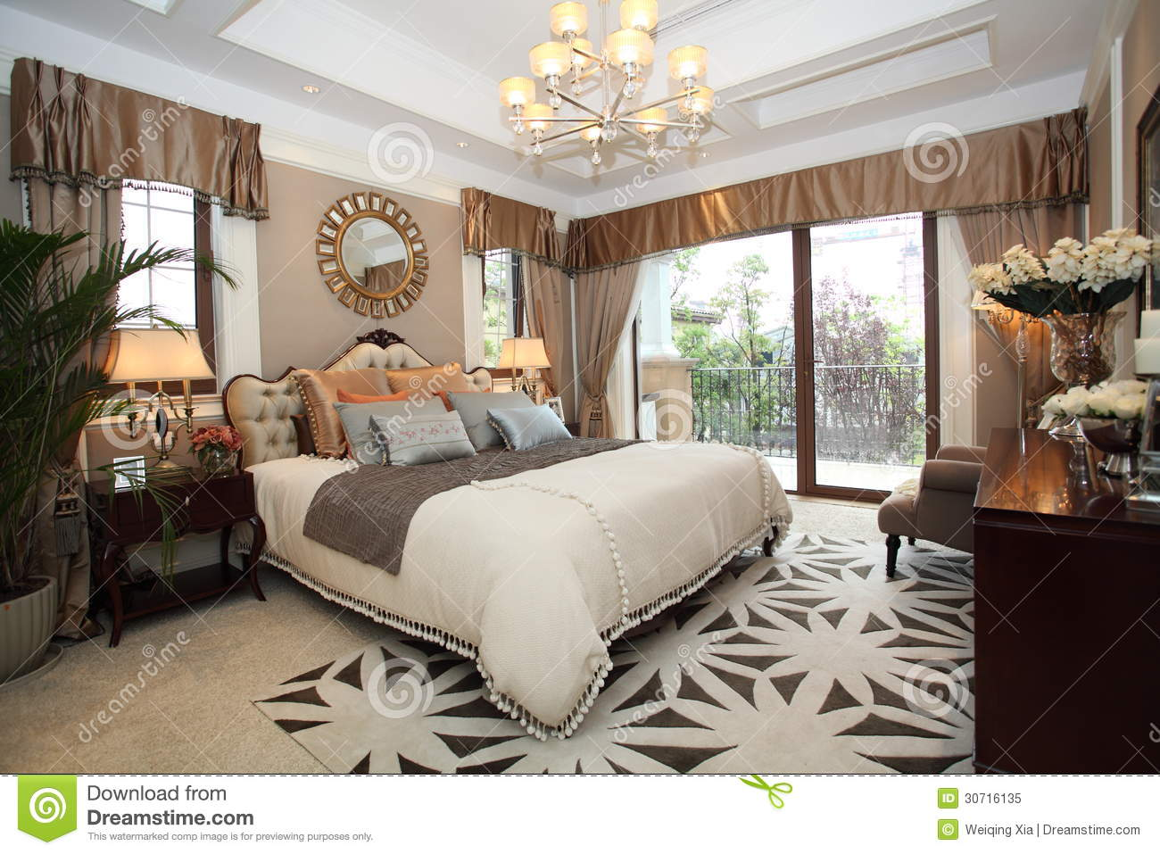Bedroom Designer Free Luxury Home Bedroom Stock Image Image Of Floor Light