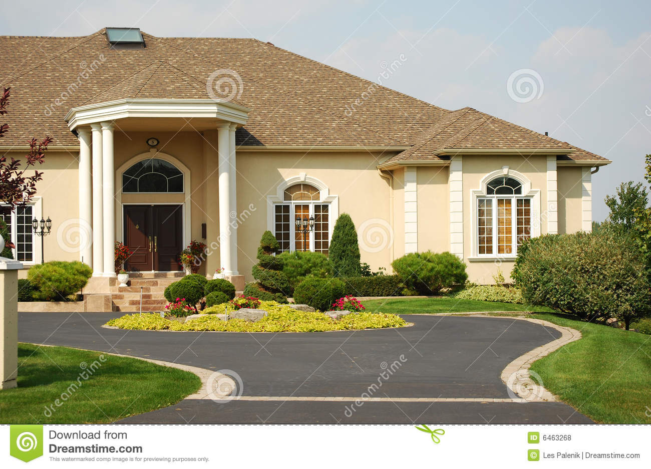 Luxury Home Entrance Luxury Home Entrance Royalty Free Stock Photos Image