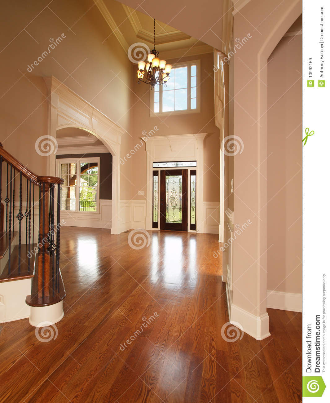 Luxury Home Entrance Luxury Home Entrance Way Royalty Free Stock Images Image