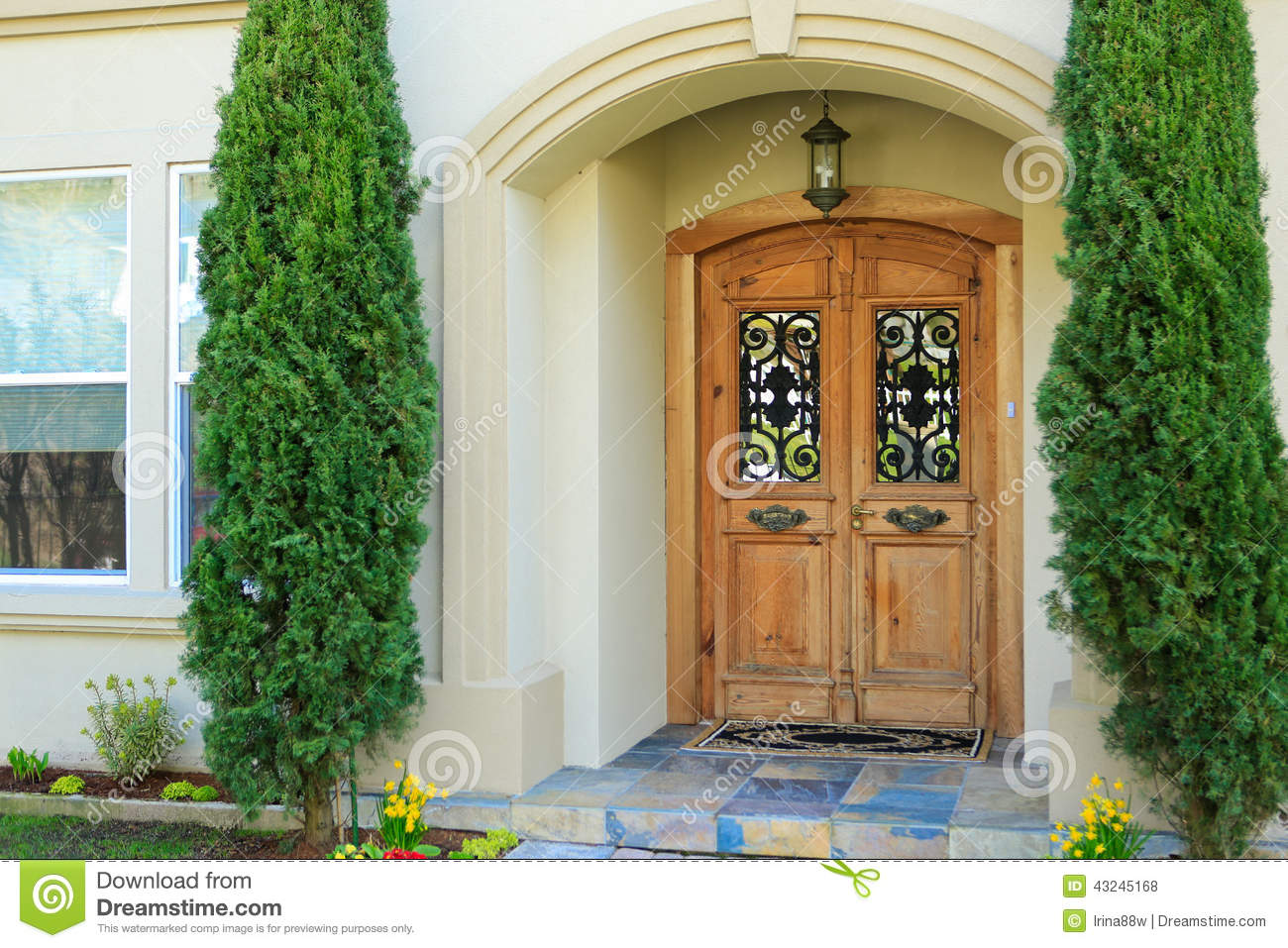 Luxury Home Entrance Luxury House Entrance Porch Stock Photo Image Of Estate