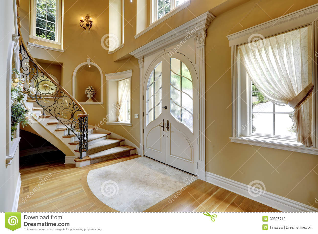 Luxury Home Entrance House Entrance Interior