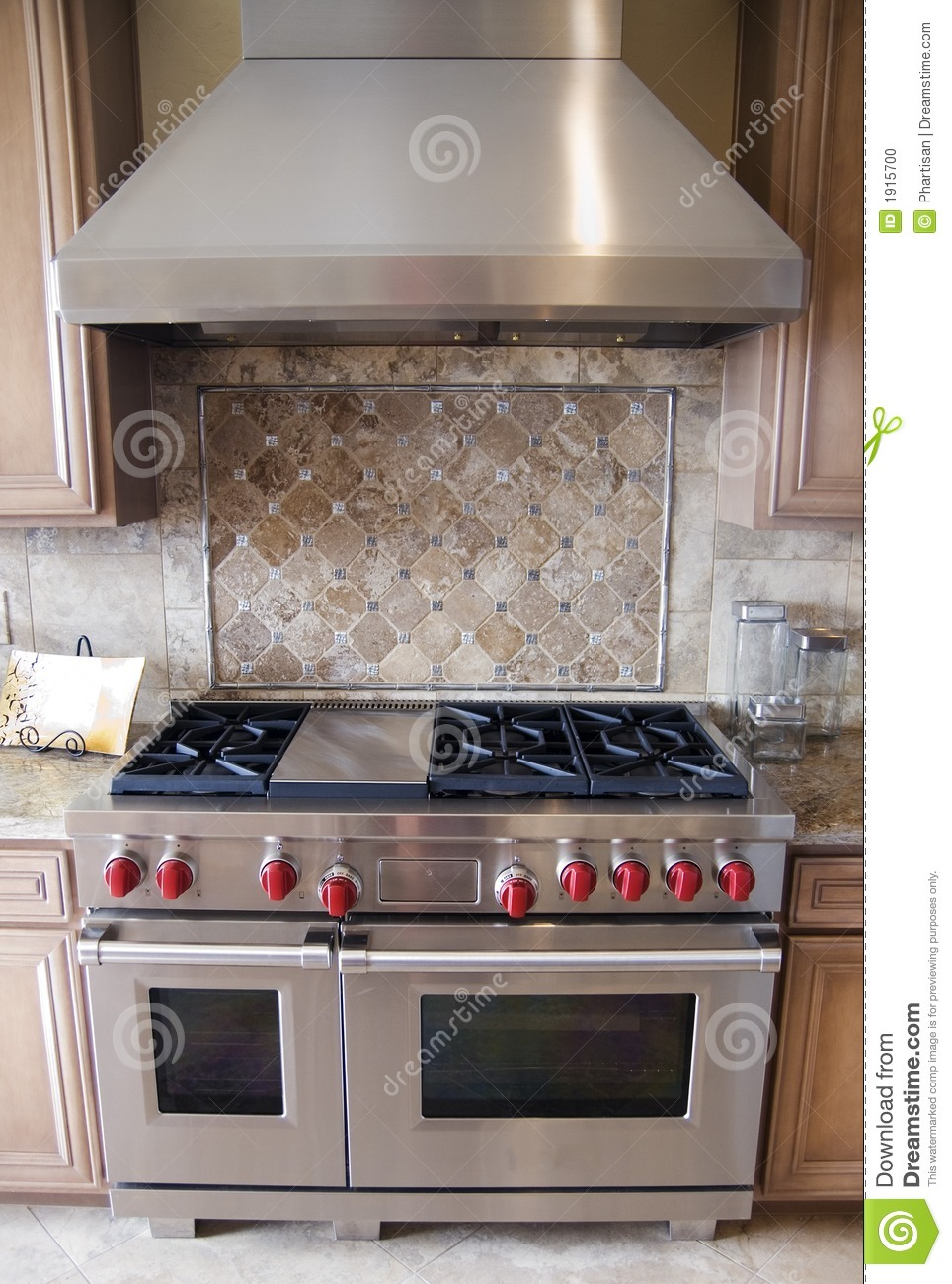 Modern Sofa Luxury Kitchen Oven Ranfe Stock Photo. Image Of Design