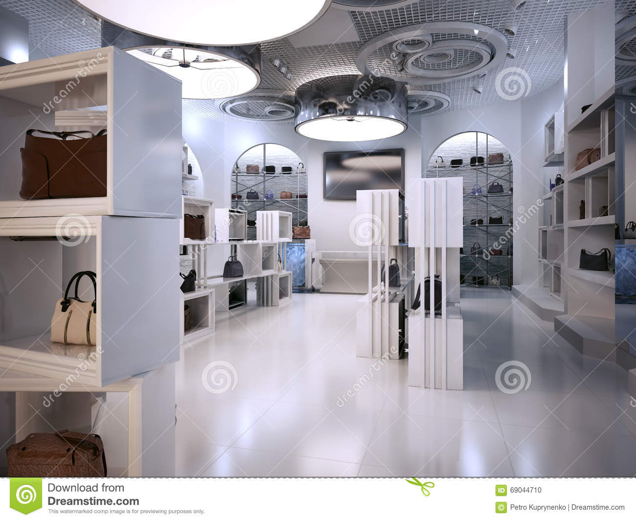 Deco Store Luxury Store Interior Design Art Deco Style With Hints Of