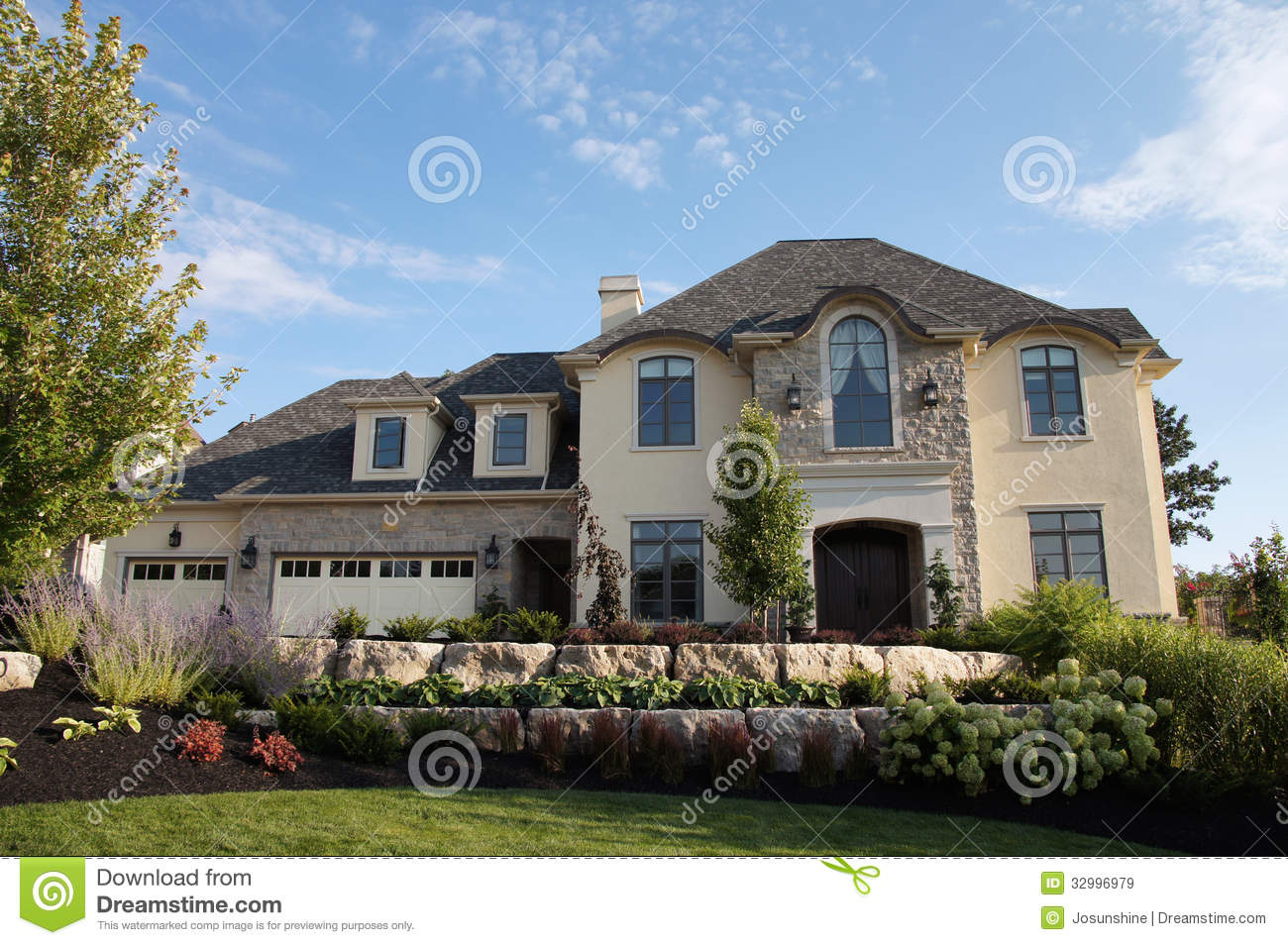 Exterior Stucco Color Gallery New Home House Stucco Royalty Free .