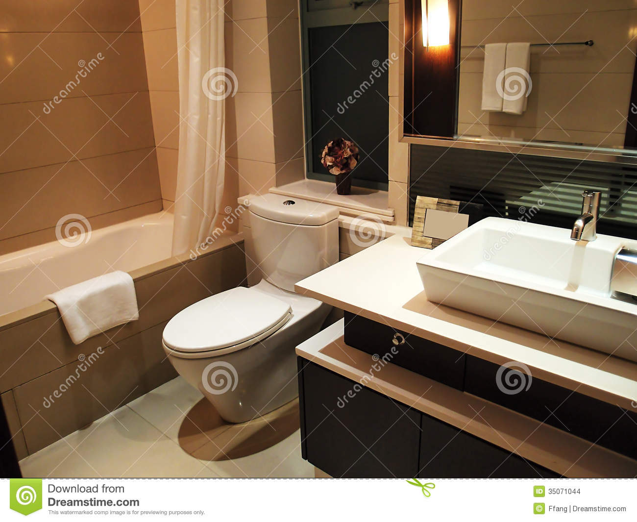 Photo De Toilette Luxury Toilet Stock Photo Image Of Light Furnished