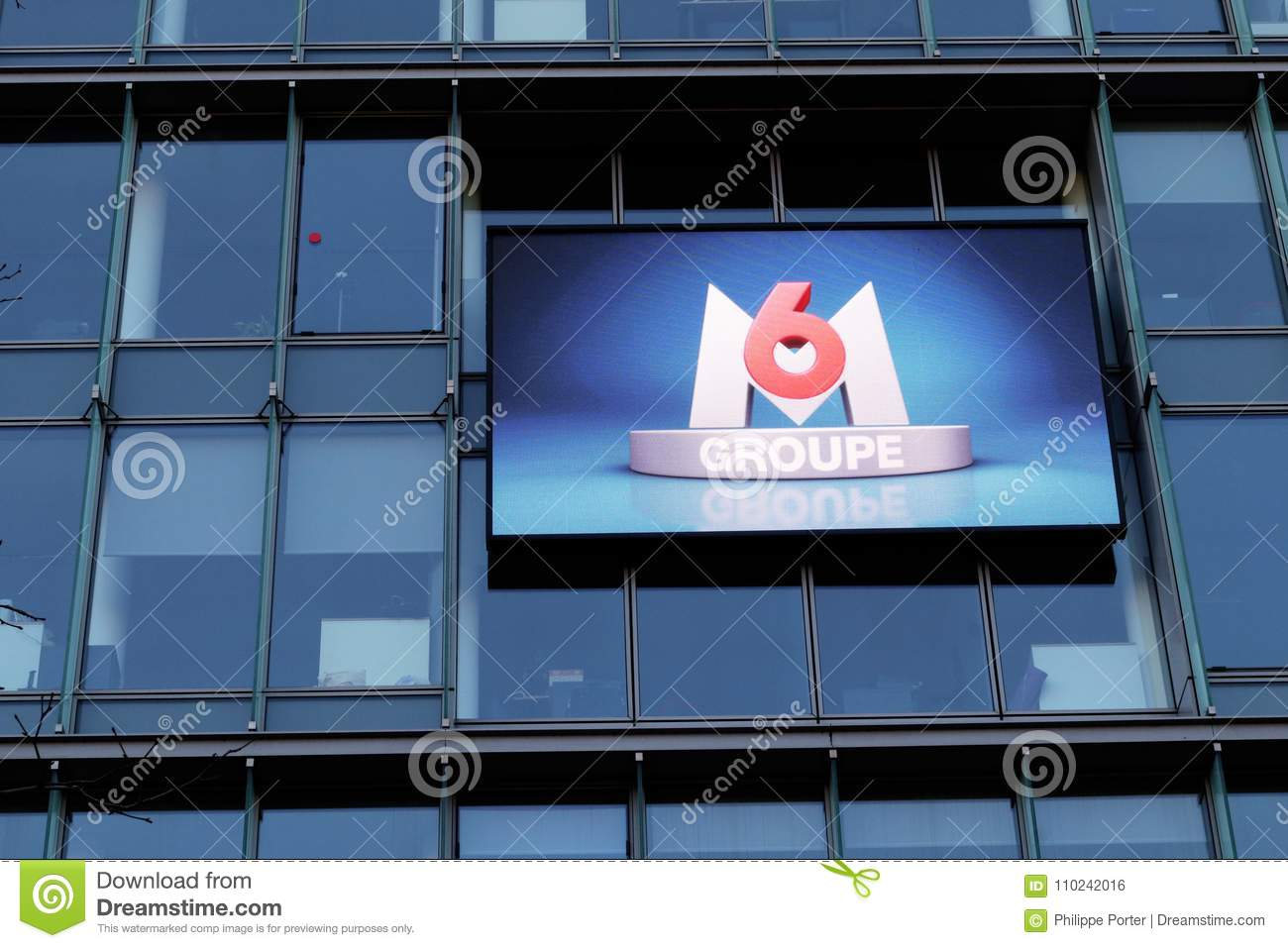 Arte Groupe France Television M6 French Media Group Headquarters Neuilly Sur Seine Paris France
