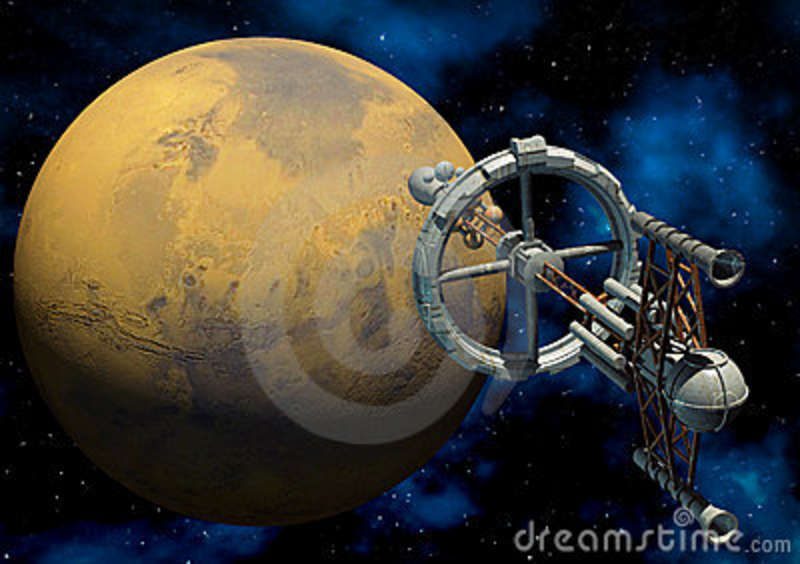 Clipart Water Free Illustration Manned Mars Mission 1 Stock Illustration Illustration Of