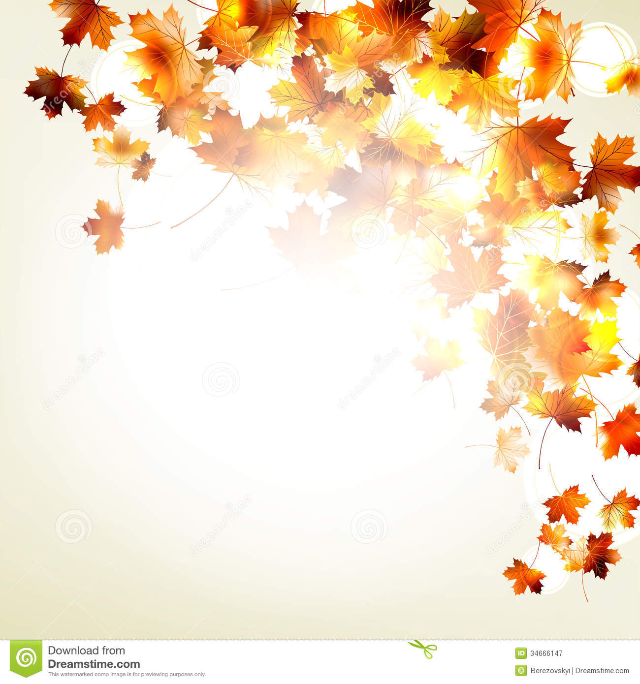 Free Animated Falling Leaves Wallpaper Maple Autumn Leaves Background Eps 10 Royalty Free Stock