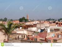 Marrakesh Roofs Editorial Photo - Image: 19472776