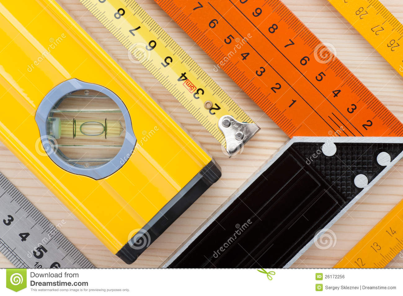 Measurement Tools Background Stock Photo Image Of Angle
