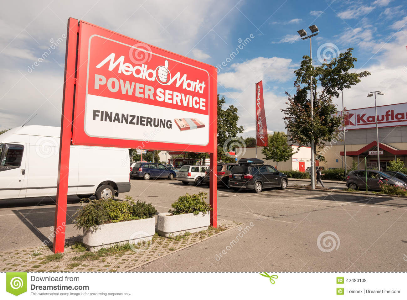 Copy Shop Koblenz Media Markt Service And Financing Editorial Stock Photo Image Of