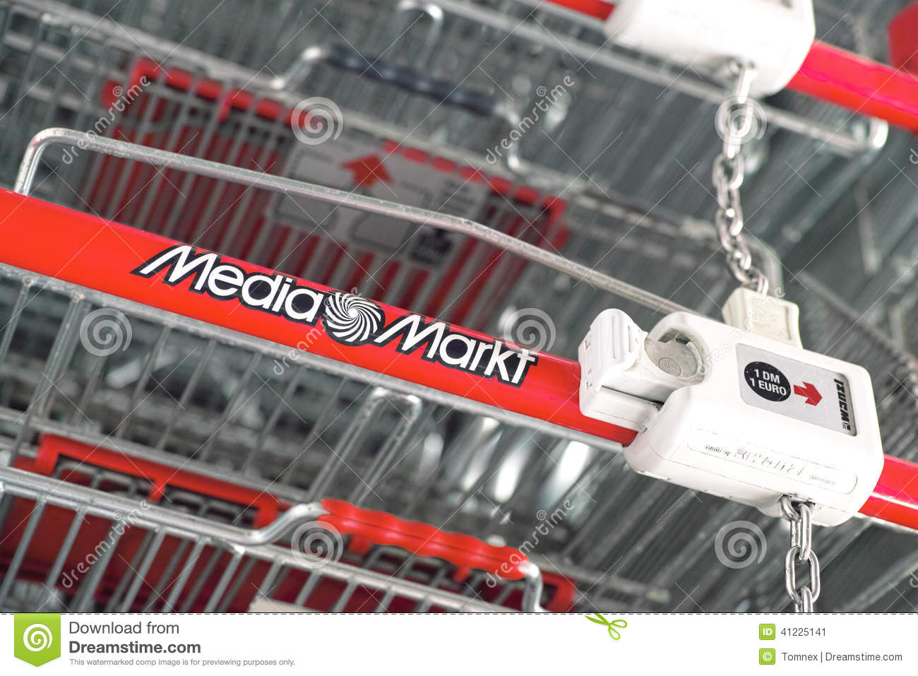 Copy Shop Koblenz Media Markt Shopping Carts Editorial Photo Image Of Germany