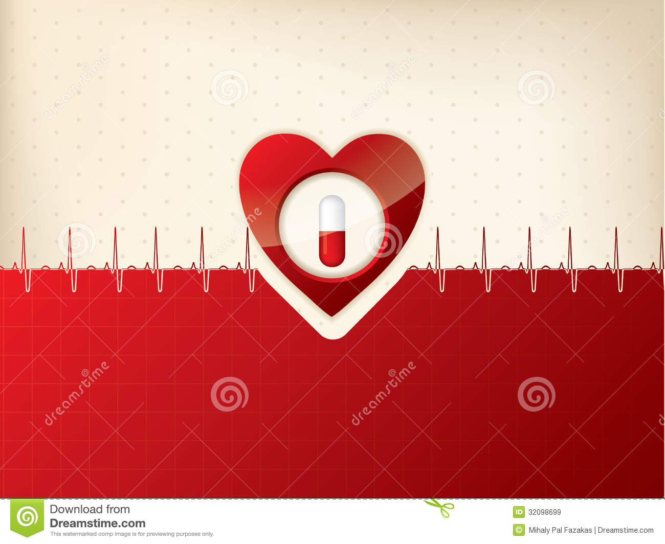 Doctor Symbol Hd Wallpaper Medical Background Design With Heart And Ekg Symbol