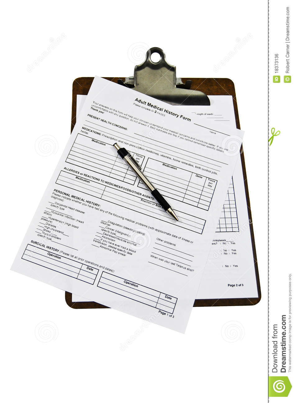 sign in forms for doctors office