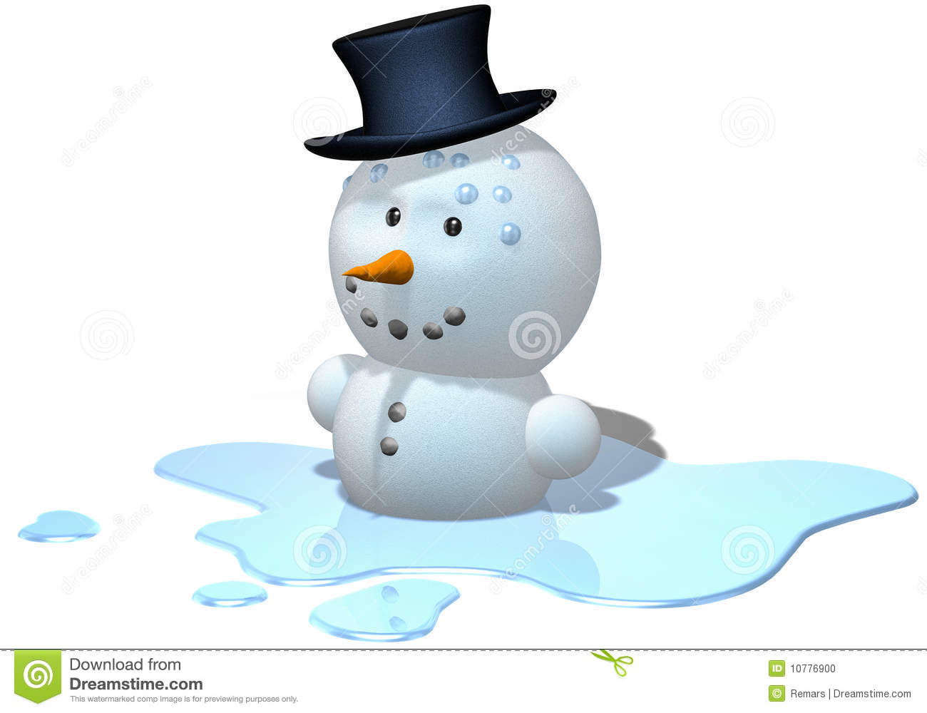 Melting Snowman Stock Illustrations 134 Melting Snowman Stock Illustrations Vectors Clipart Dreamstime