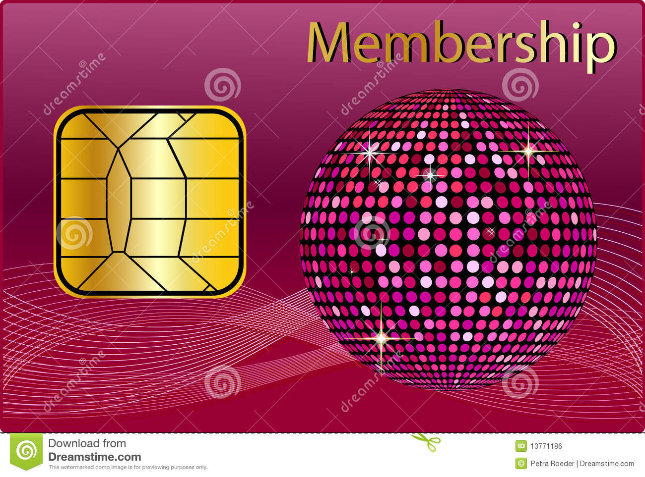 Elite Design Web Membership Card Royalty Free Stock Image Image 13771186