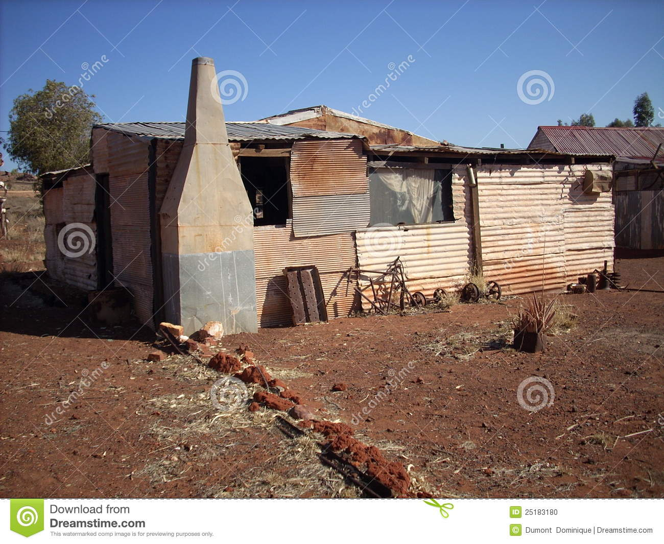 Metal Photo Prints Australia Metal Sheet Houses Stock Photo Image Of Outback Living
