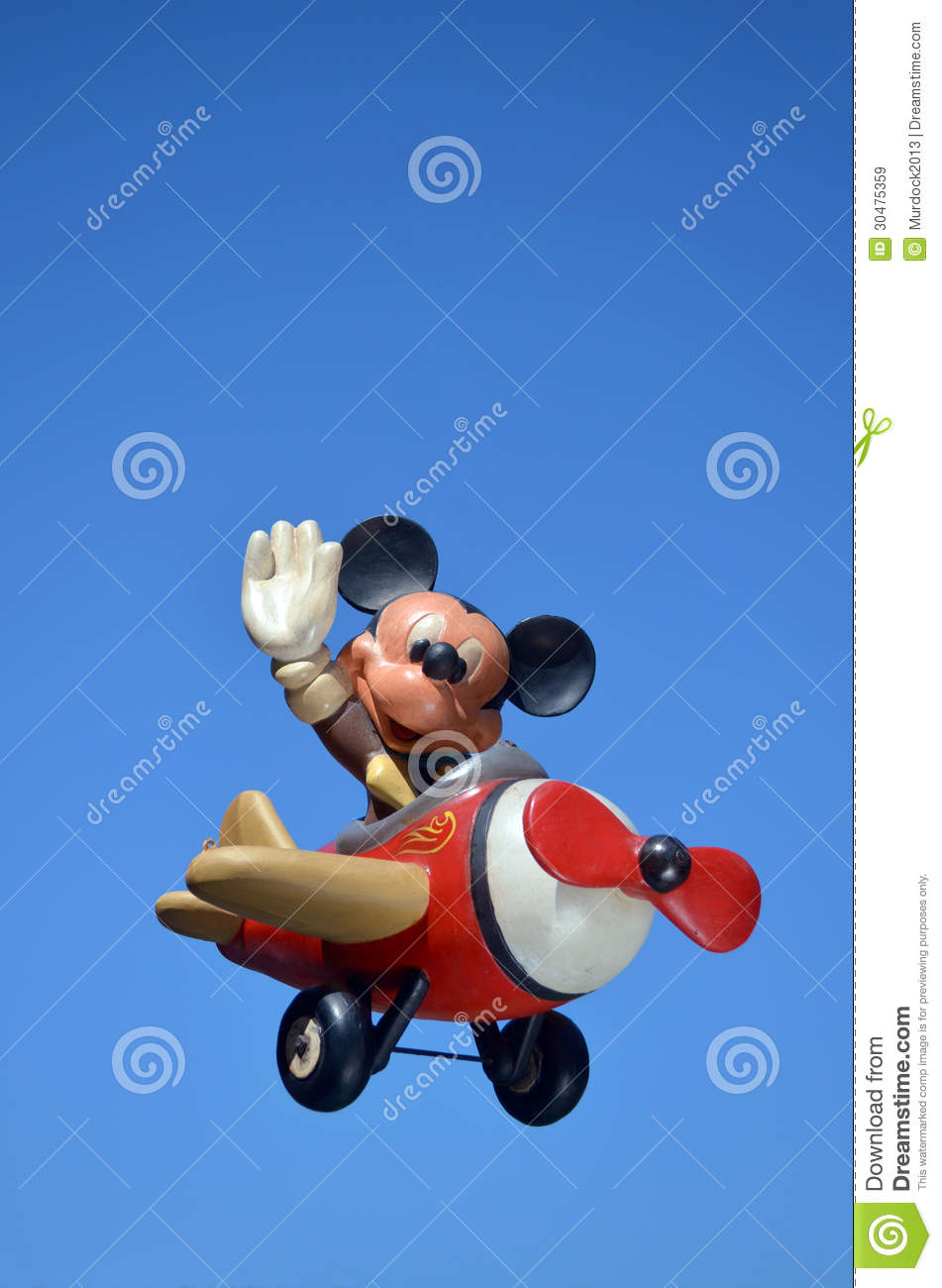 Animated Sky Wallpaper Disney Mickey Mouse Editorial Stock Image Image Of