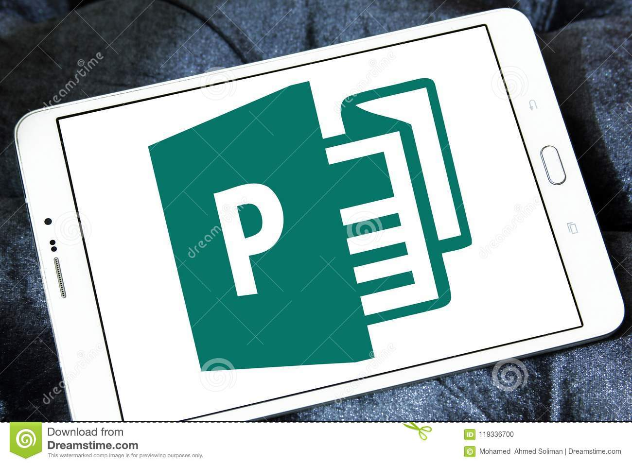 Office Publisher Microsoft Office Publisher Logo Editorial Image Image Of