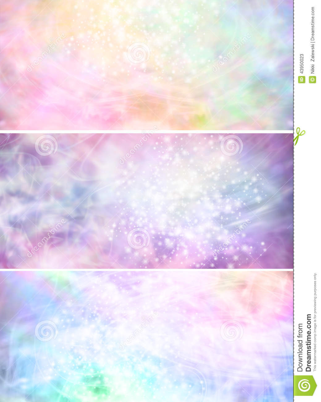 Free Falling Snow Wallpaper Misty Sparkling Pastel Colored Background Banners X 3