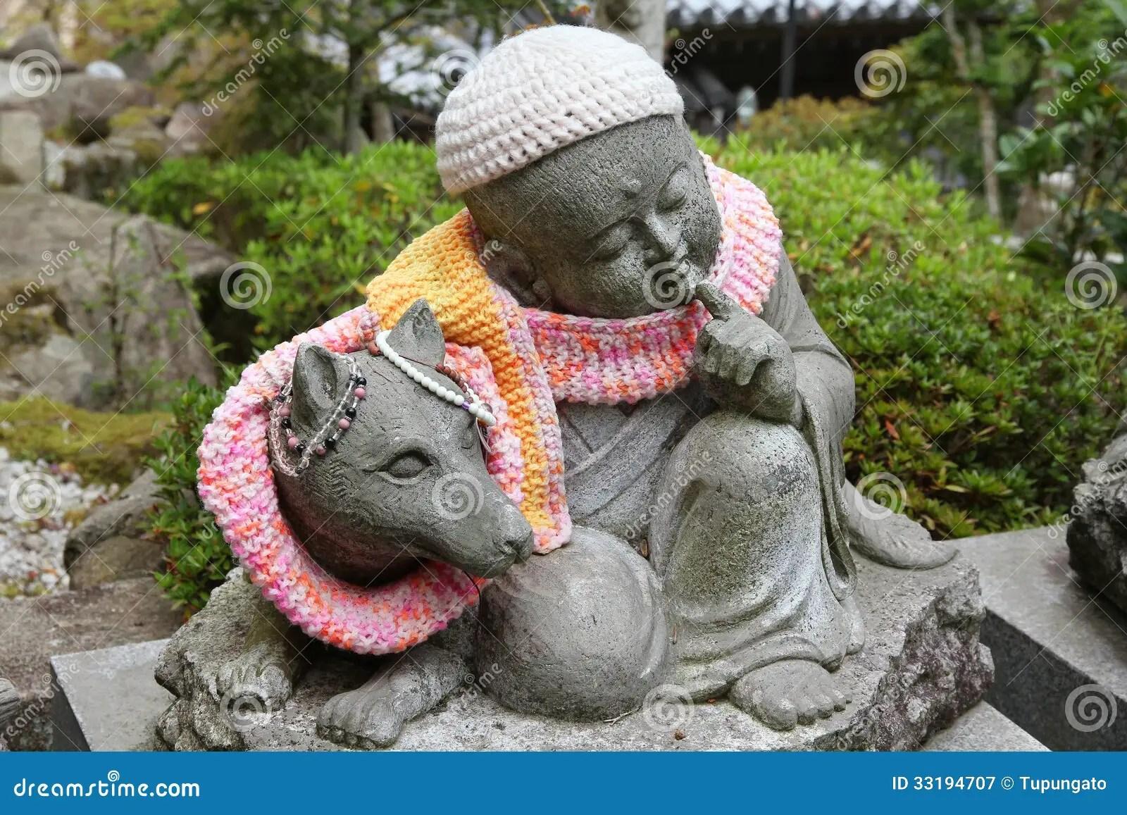Green Animal Print Wallpaper Miyajima Jizo Royalty Free Stock Photography Image 33194707