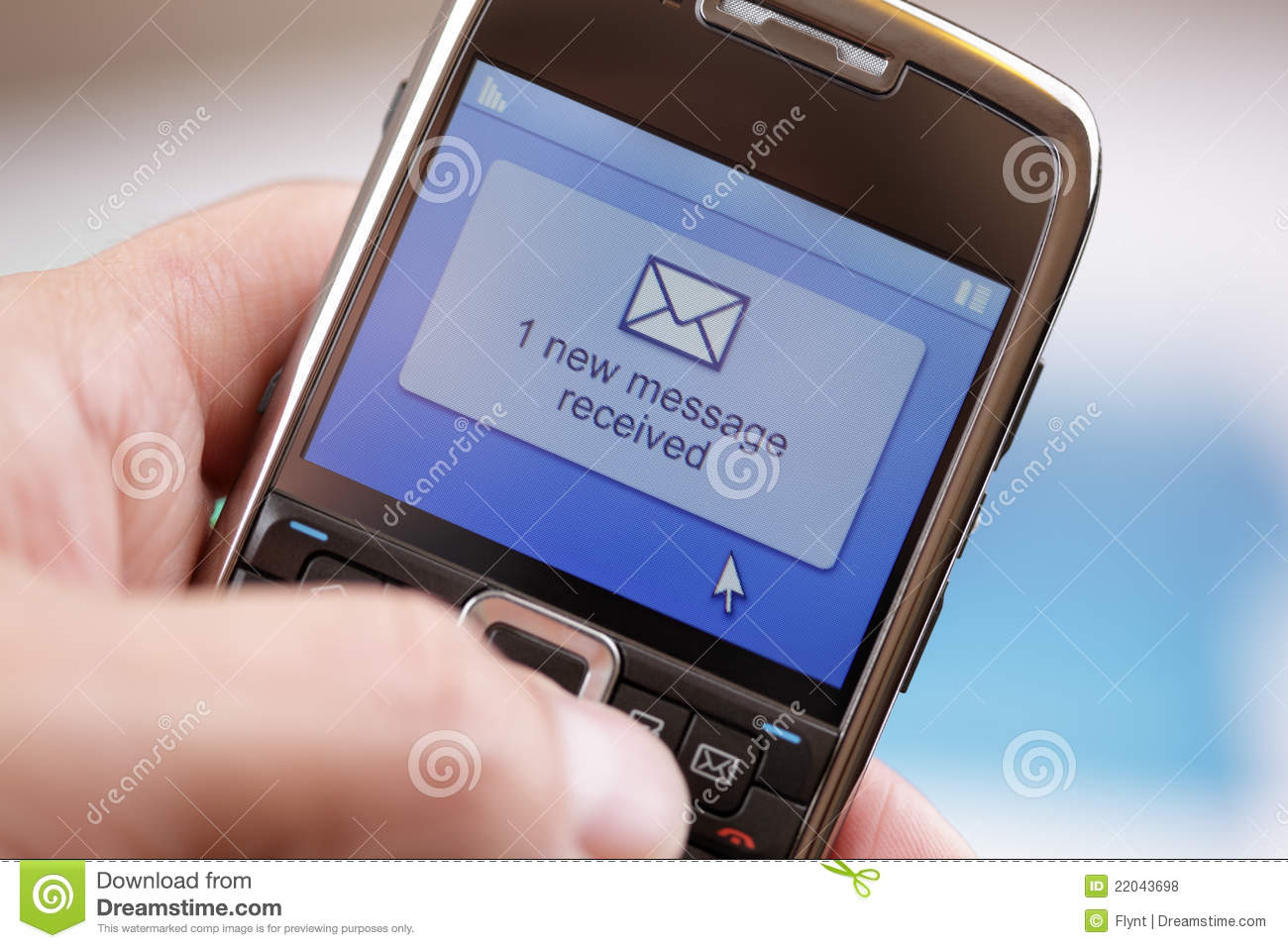 Car Wallpaper Clipart Mobile Phone Text Message Or E Mail Royalty Free Stock
