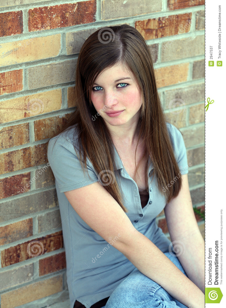 Download Foto Model Model Girl Stock Image Image Of Smile Feminine Preteen 2947537