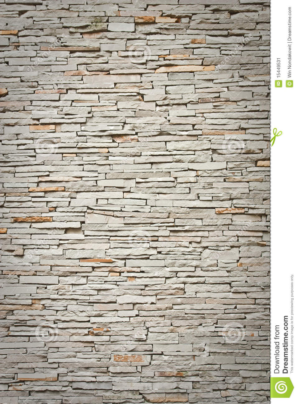 Office Accent Wall Modern Brick Wall Stock Image - Image: 15449531