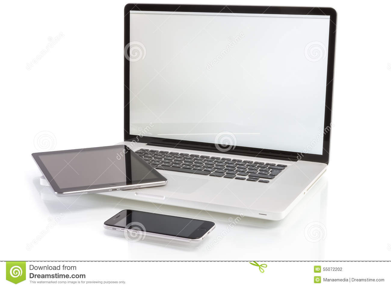 Tablett Modern Modern Computer Devices Laptop Tablet Pc And Smartphone