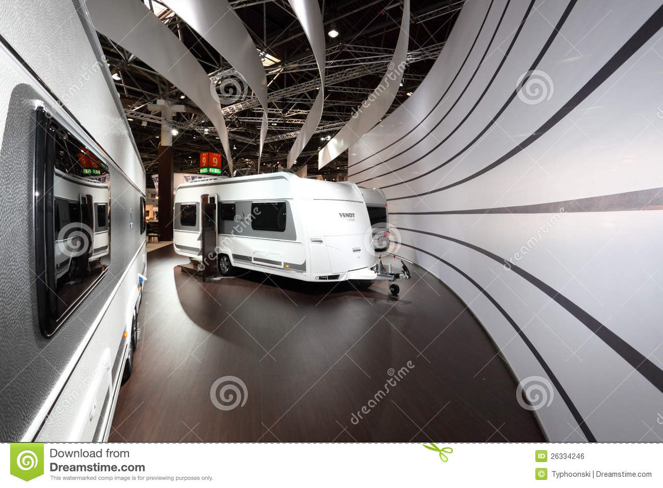 Modern Fendt Mobile Homes Editorial Photo Image Of Tradeshow - Salon Caravane 2016