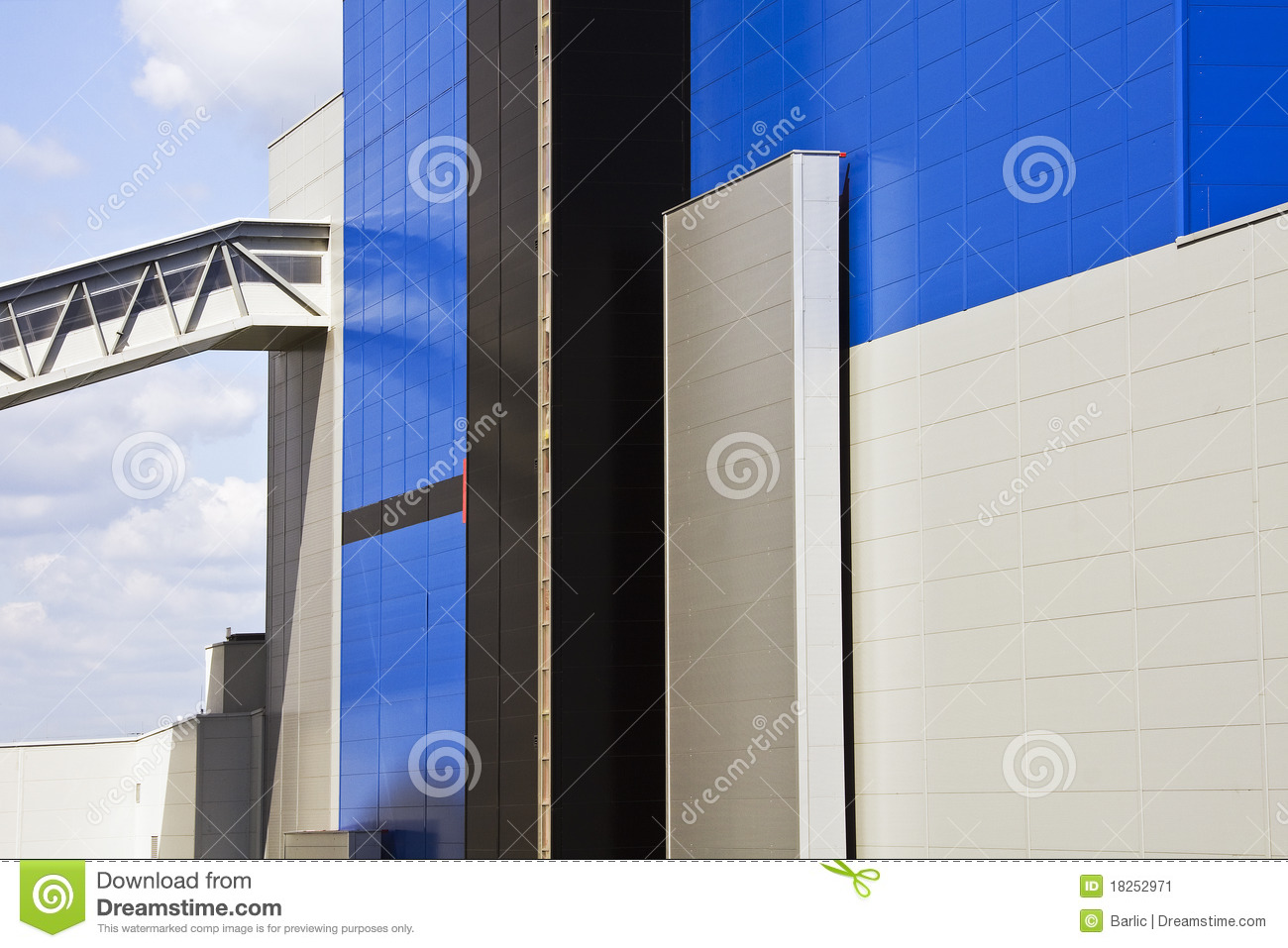 Industri Modern Modern Industry Stock Image Image 18252971