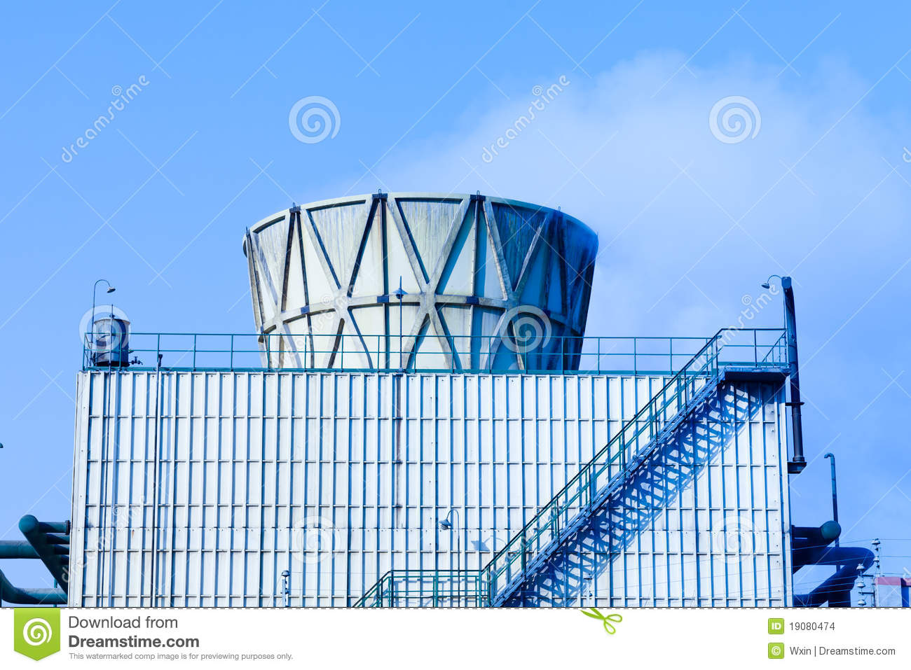 Industri Modern Modern Industry Stock Images Image 19080474
