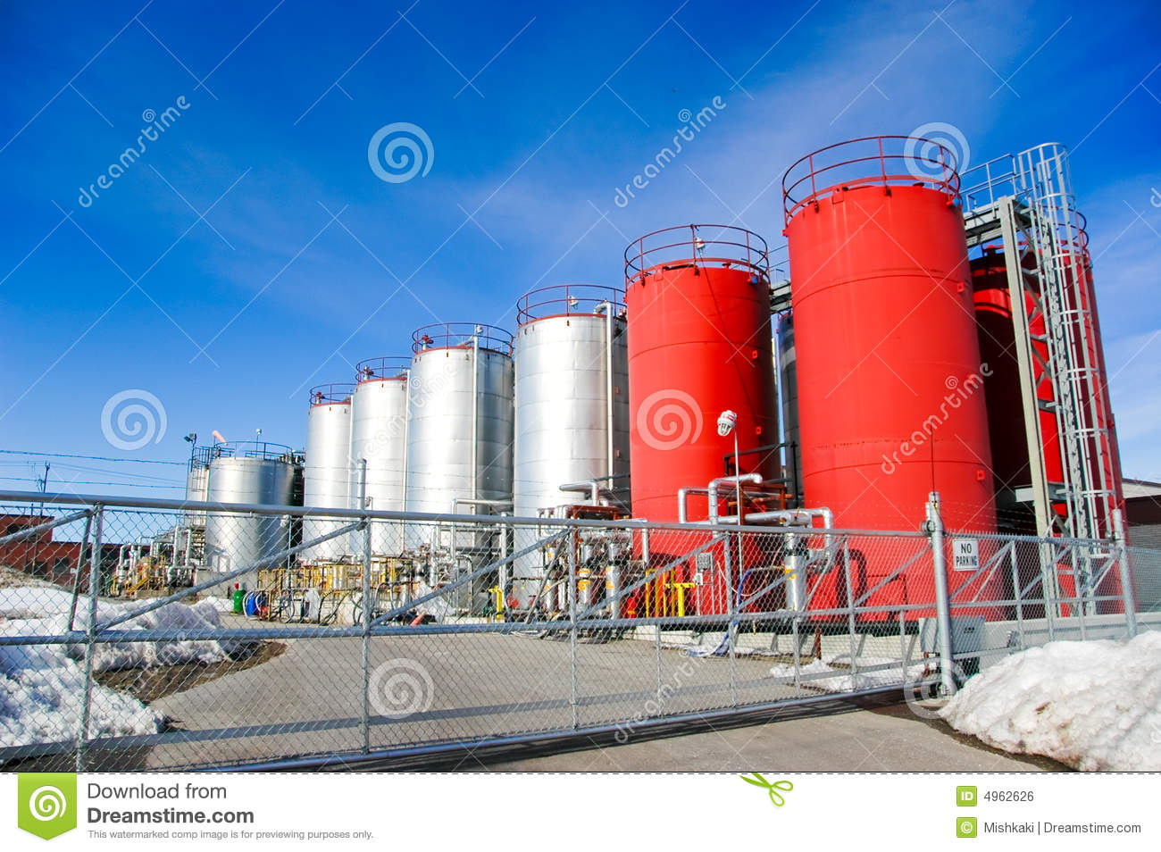 Industri Modern Modern Industry Royalty Free Stock Image Image 4962626