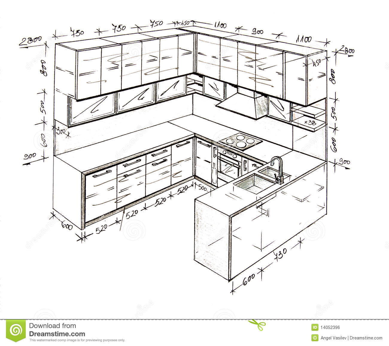 Design Furniture Drawing