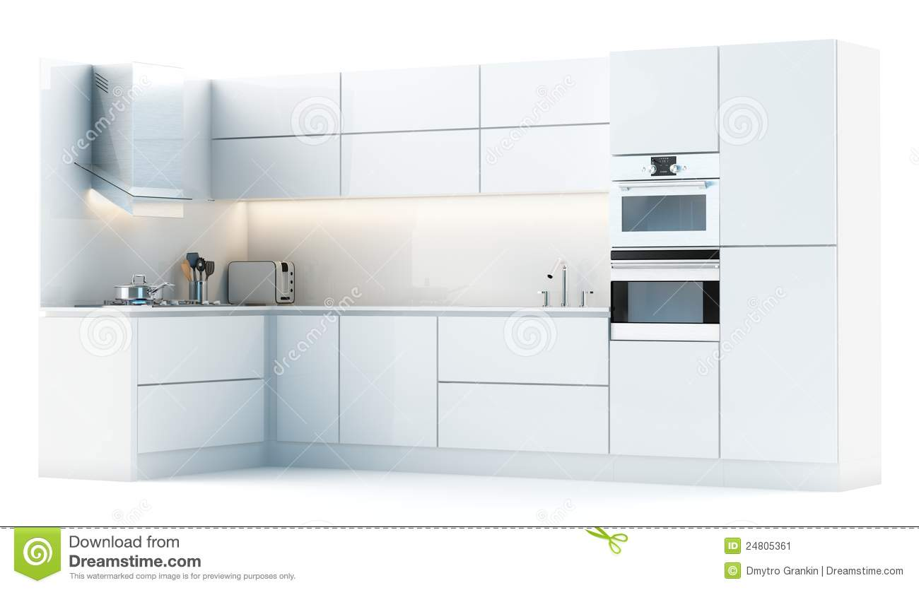 Kitchen Cabinet Design Plans Download Modern Kitchen Cabinets In Studio Stock Illustration Illustration