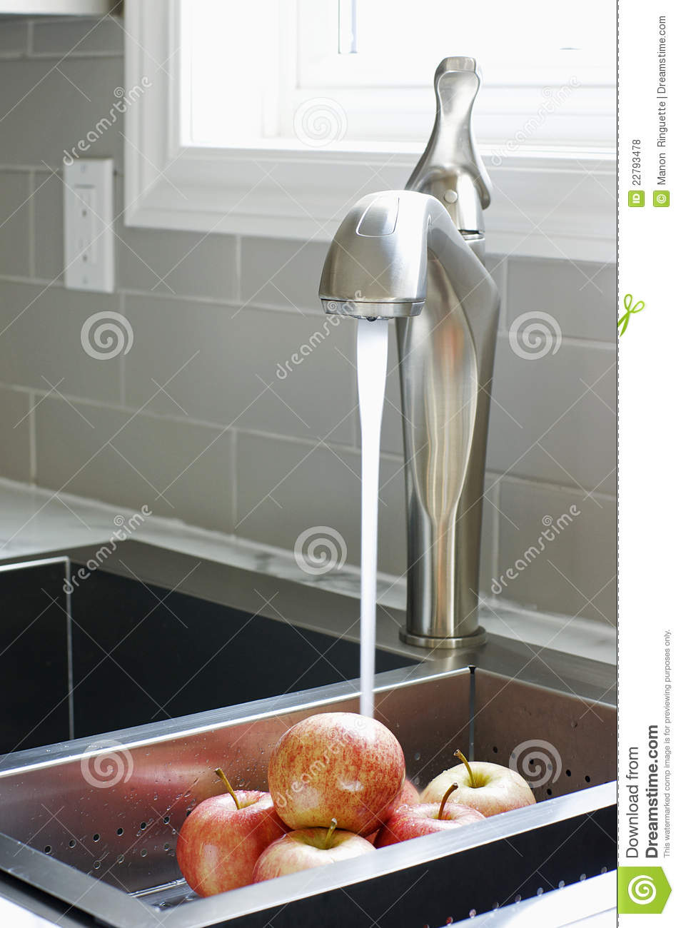 royalty free stock photos modern kitchen sink faucet image kitchen sinks and faucets Modern Kitchen Sink and Faucet