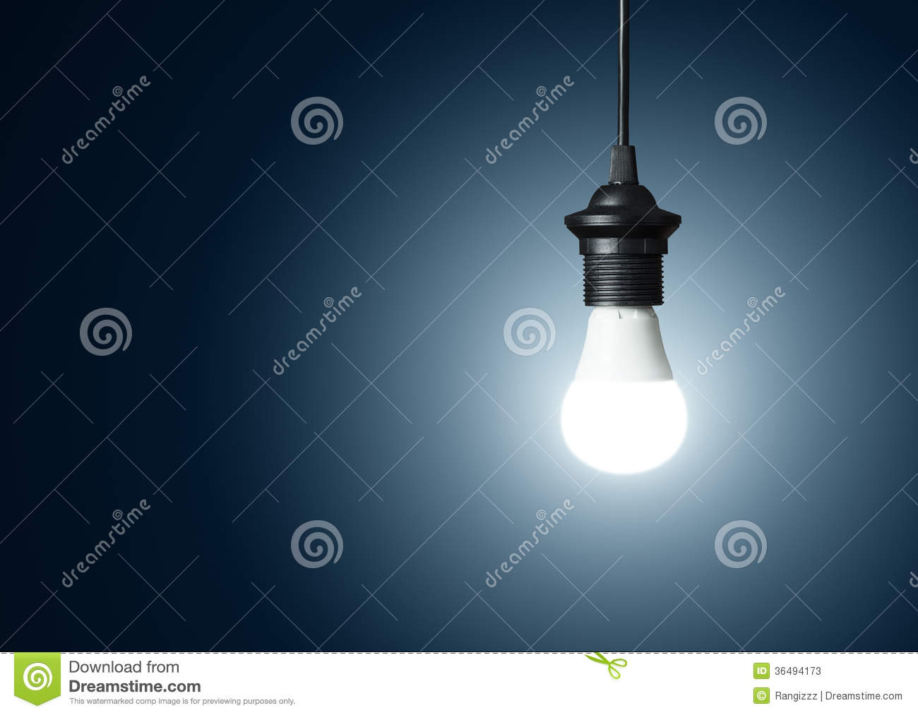 Modern Lighting Concept Modern Light Bulb Stock Image Image Of Bright Bulb