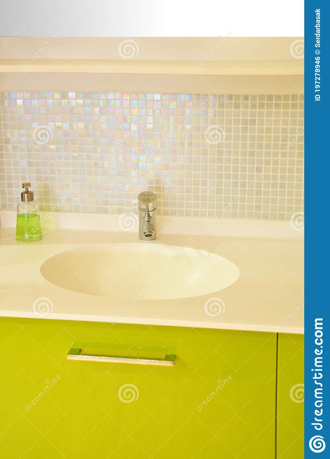 Modern Luxury Bathroom Sink And Cabinet Design Stock Photo Image Of Faucet Indoor 197278946