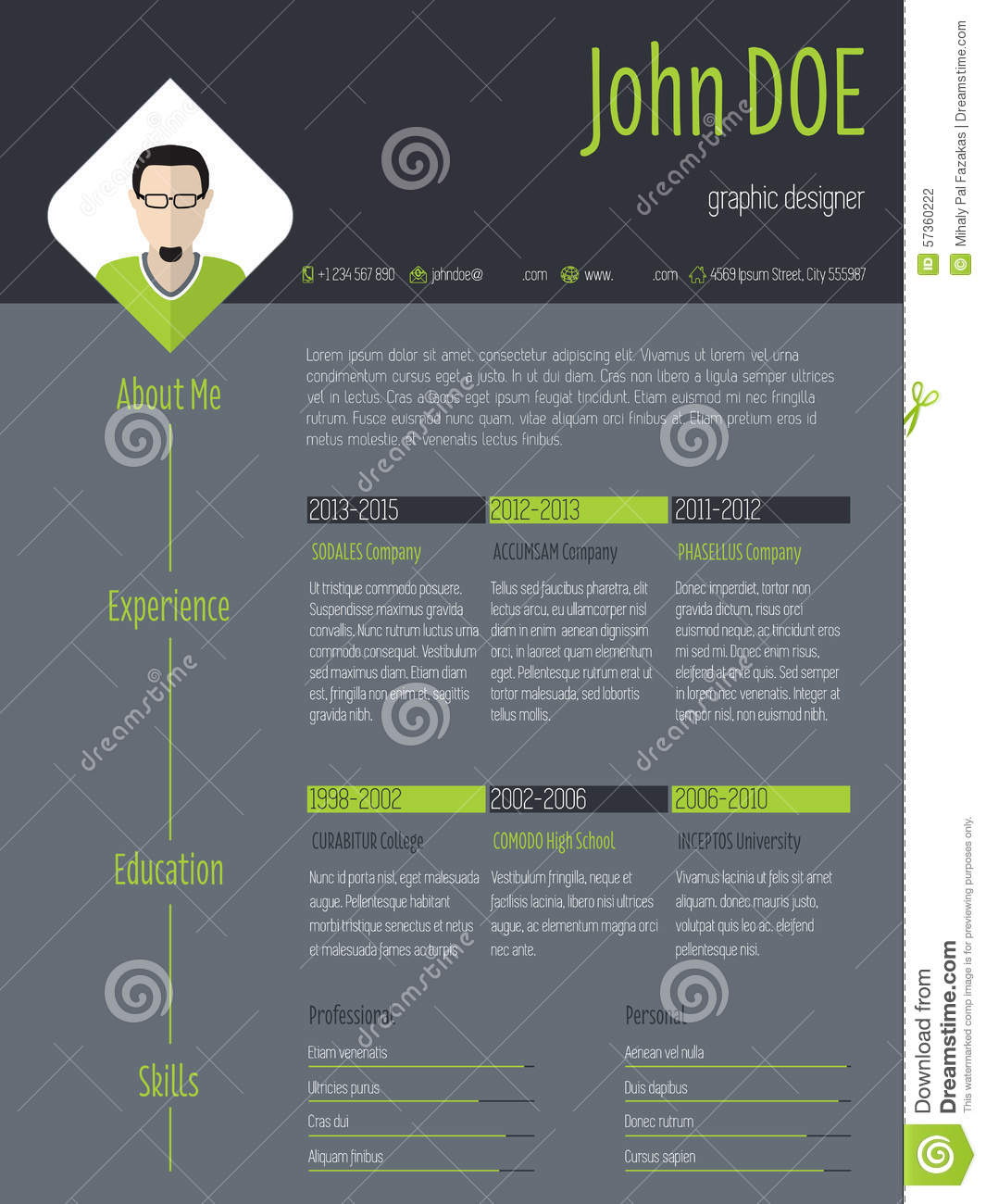 curriculum vitae template design sample customer service resume curriculum vitae template design curriculum vitae o cv modern resume cv photo and dark background