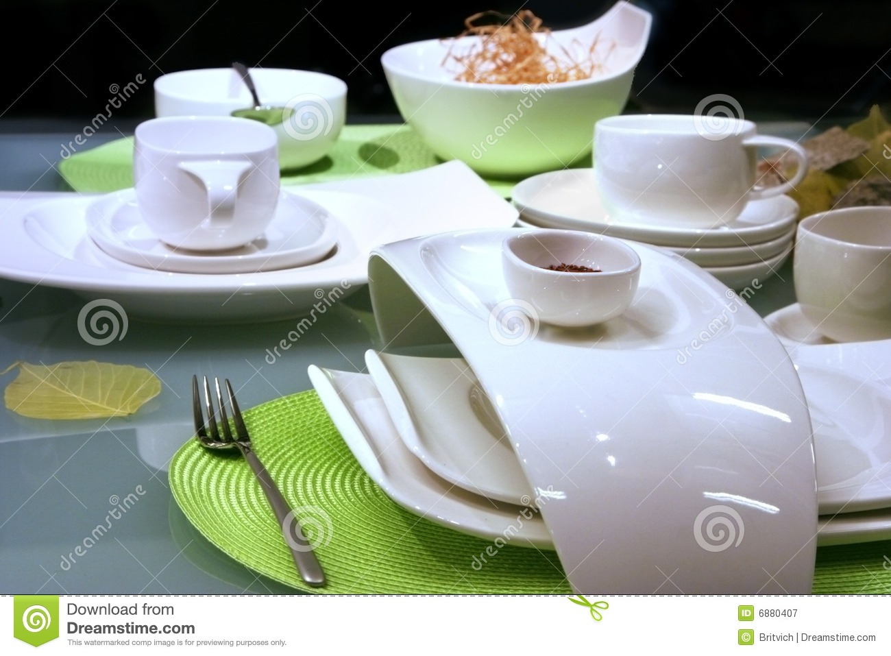 Modern Table Setting Modern Table Settings Stock Image Image Of Fine Meeting