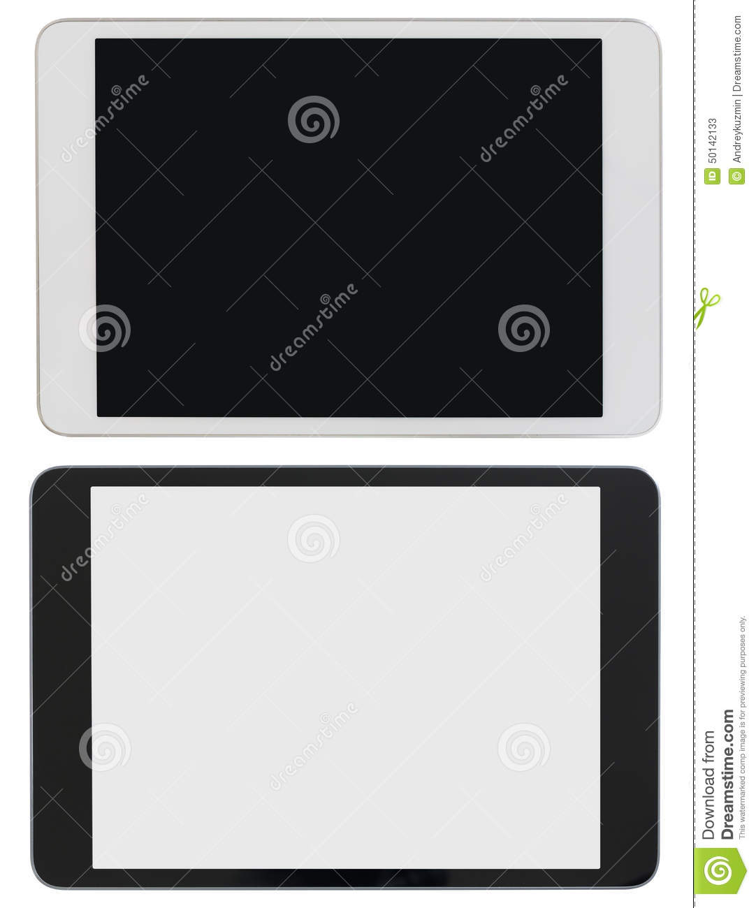 Tablett Modern Modern Tablet Pc Or Ipad Photo Isolated With Stock Image