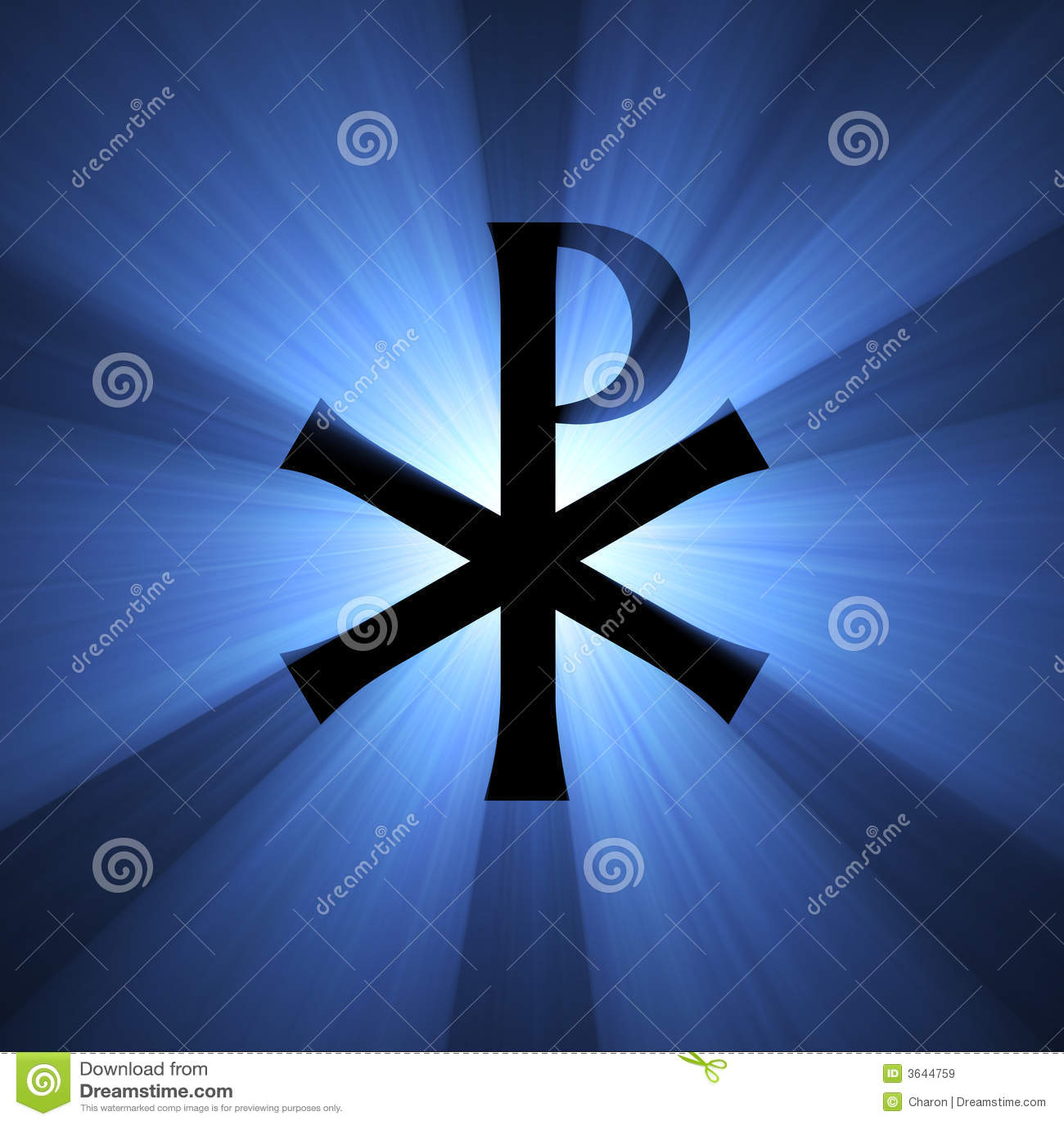monogram of christ