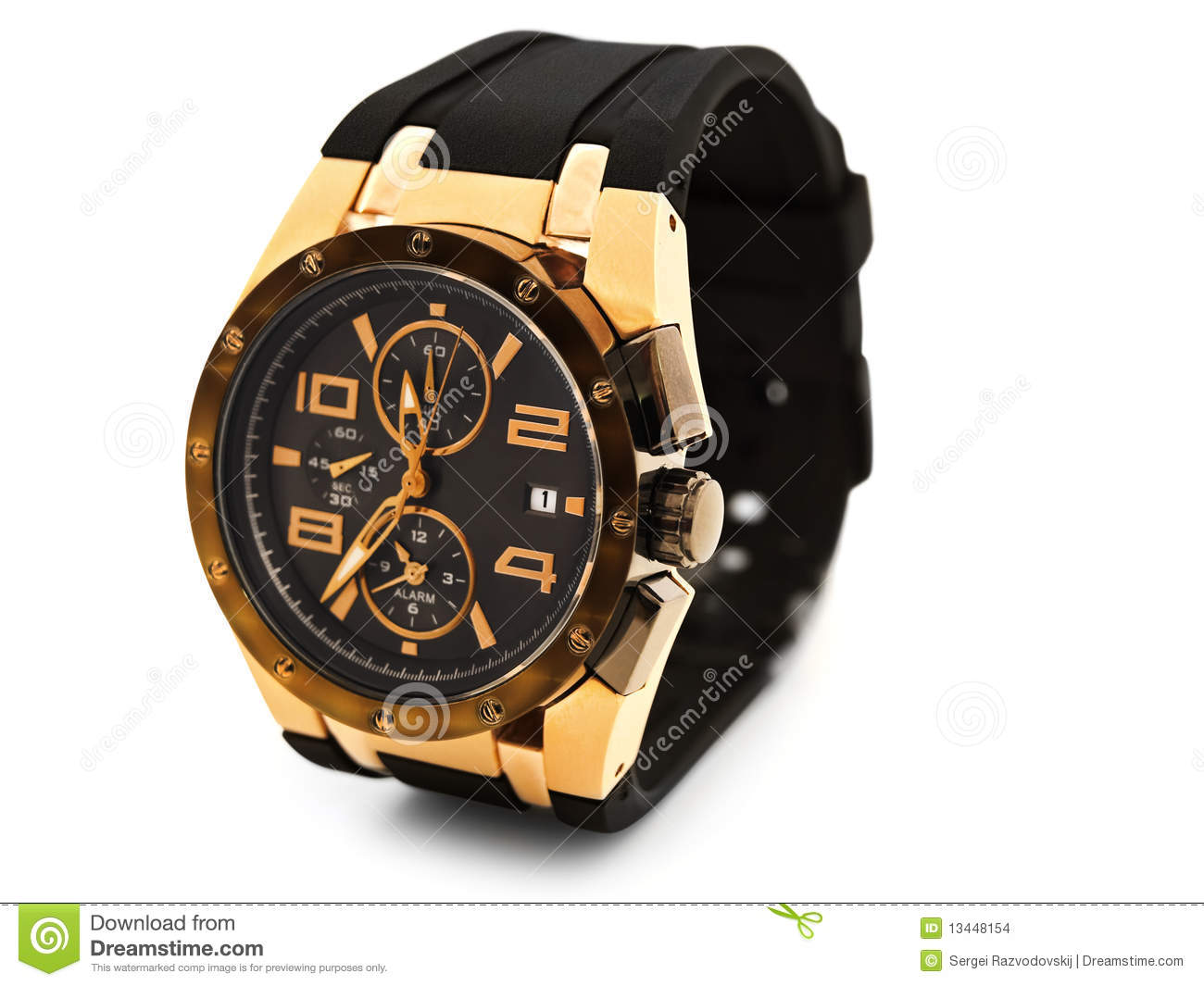 Montre De Luxe Homme Montre De Luxe D Homme Photo Stock Image Du Mode Mesure 13448154