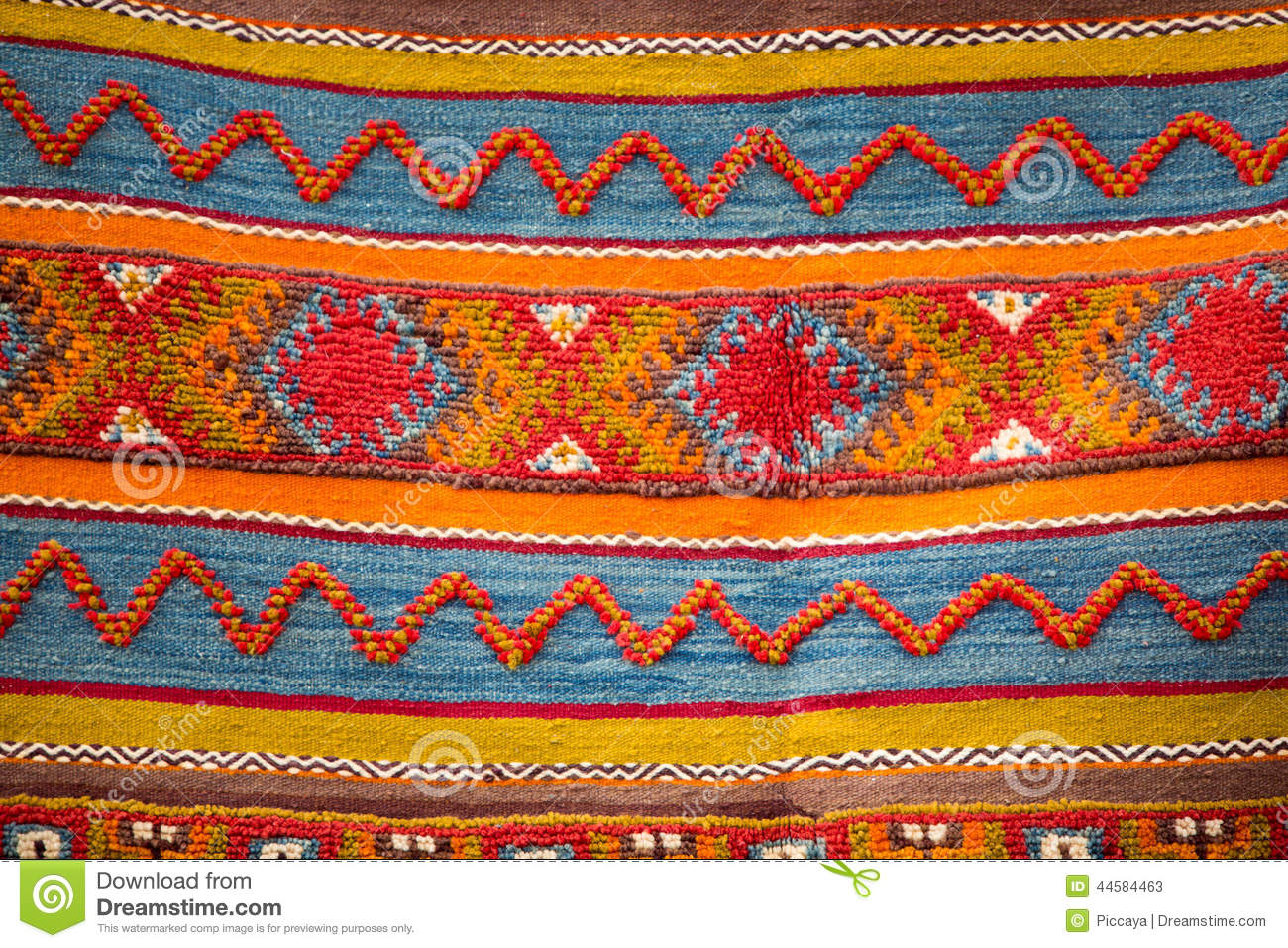 Berber Teppiche Marrakesch Moroccan Berber Carpet Background Photo Stock Image
