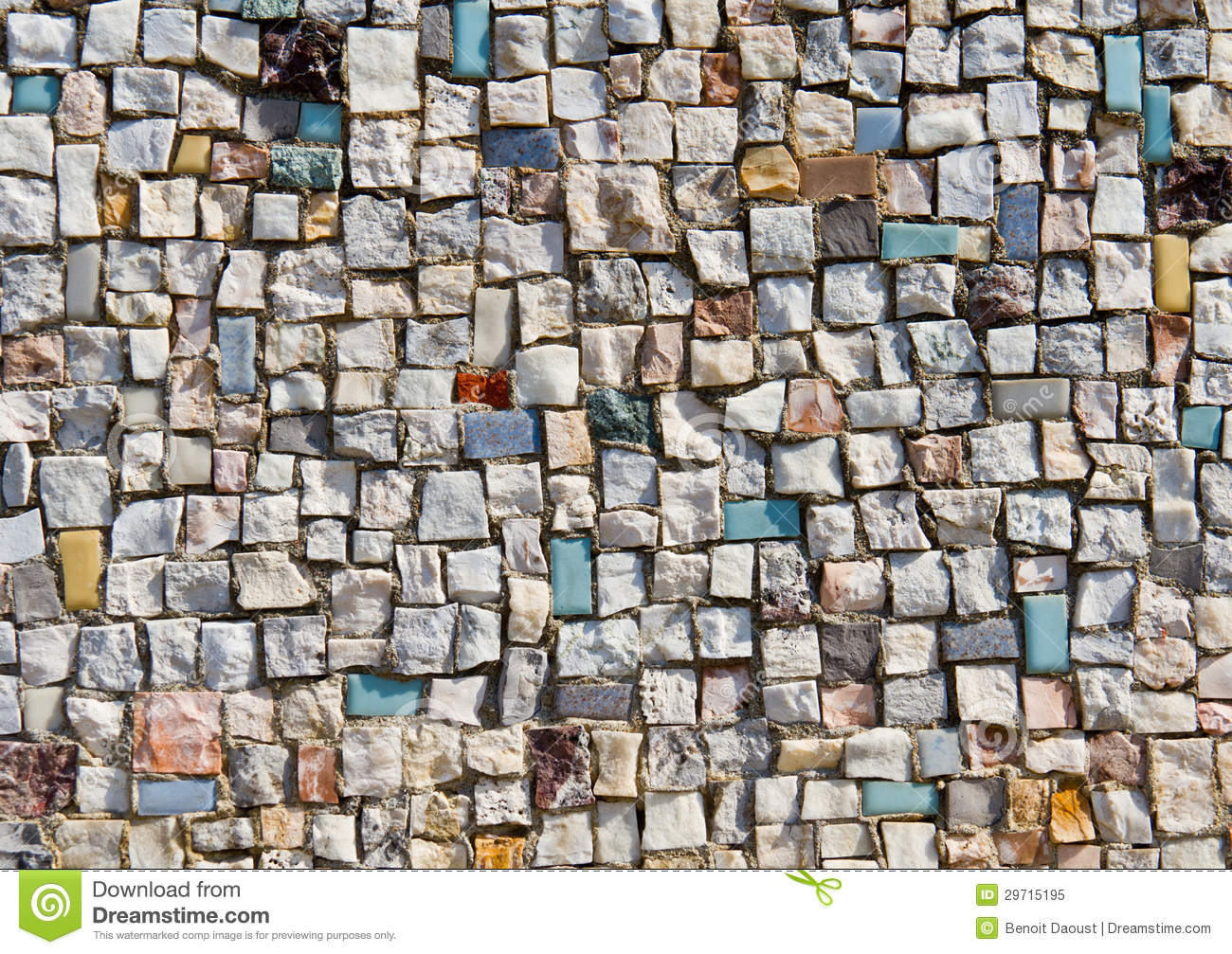 3d Stone Wallpaper For Walls Mosaic Texture Of Little Stone Wall Stock Image Image Of