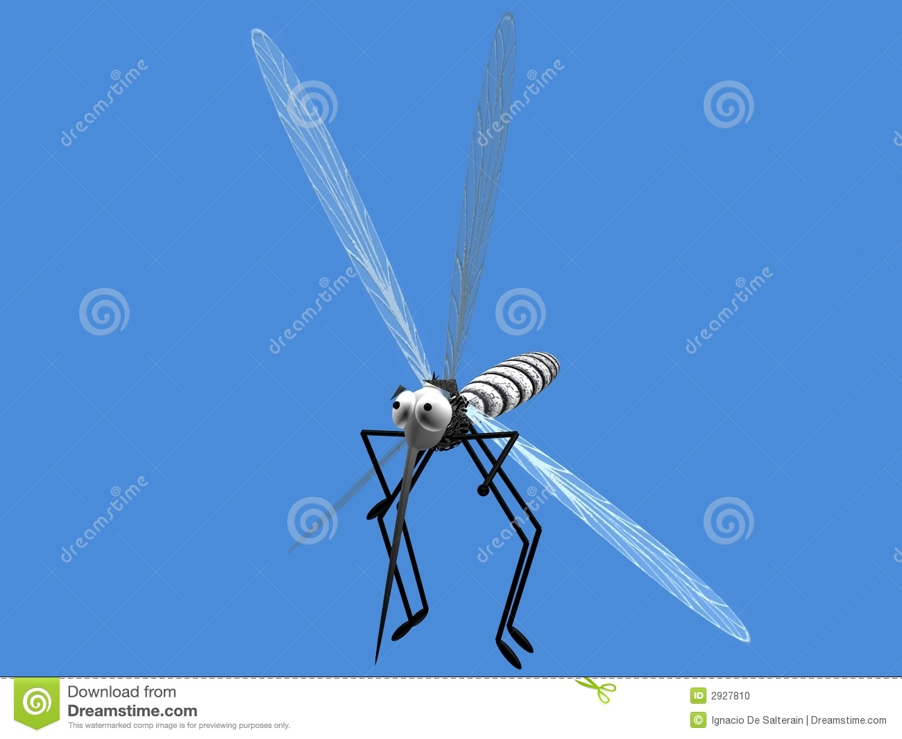 Danger 3d Wallpaper Download Mosquito Flying Stock Photo Image 2927810