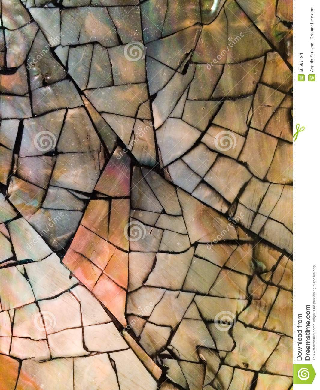 Grout Mosaic Tile Mother Of Pearl Mosaic Stock Photo Image 50567194