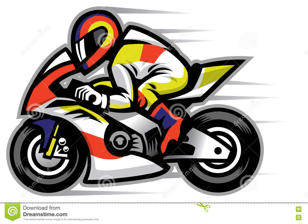Motorcycle Racing Logo Design Motorcycle Race Mascot Stock Vector Illustration Of Company
