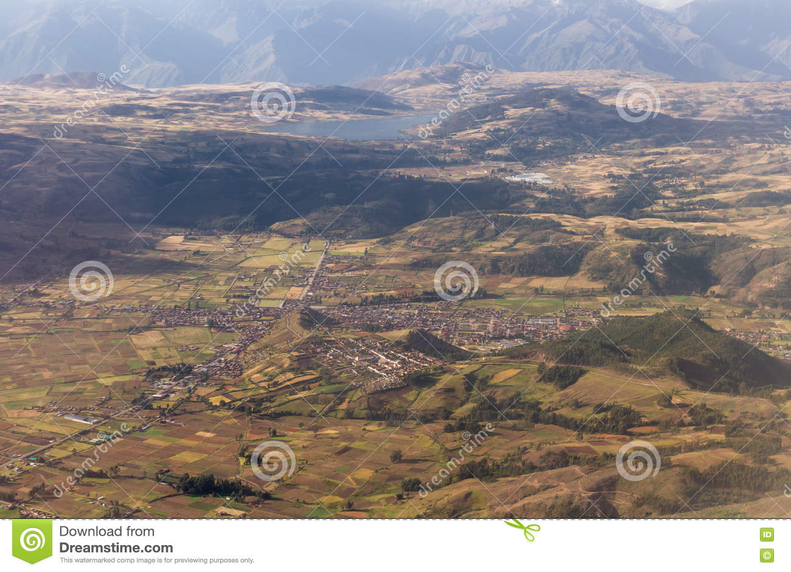 Royalty free stock photo aerial cuzco lima living mountain mountains peru