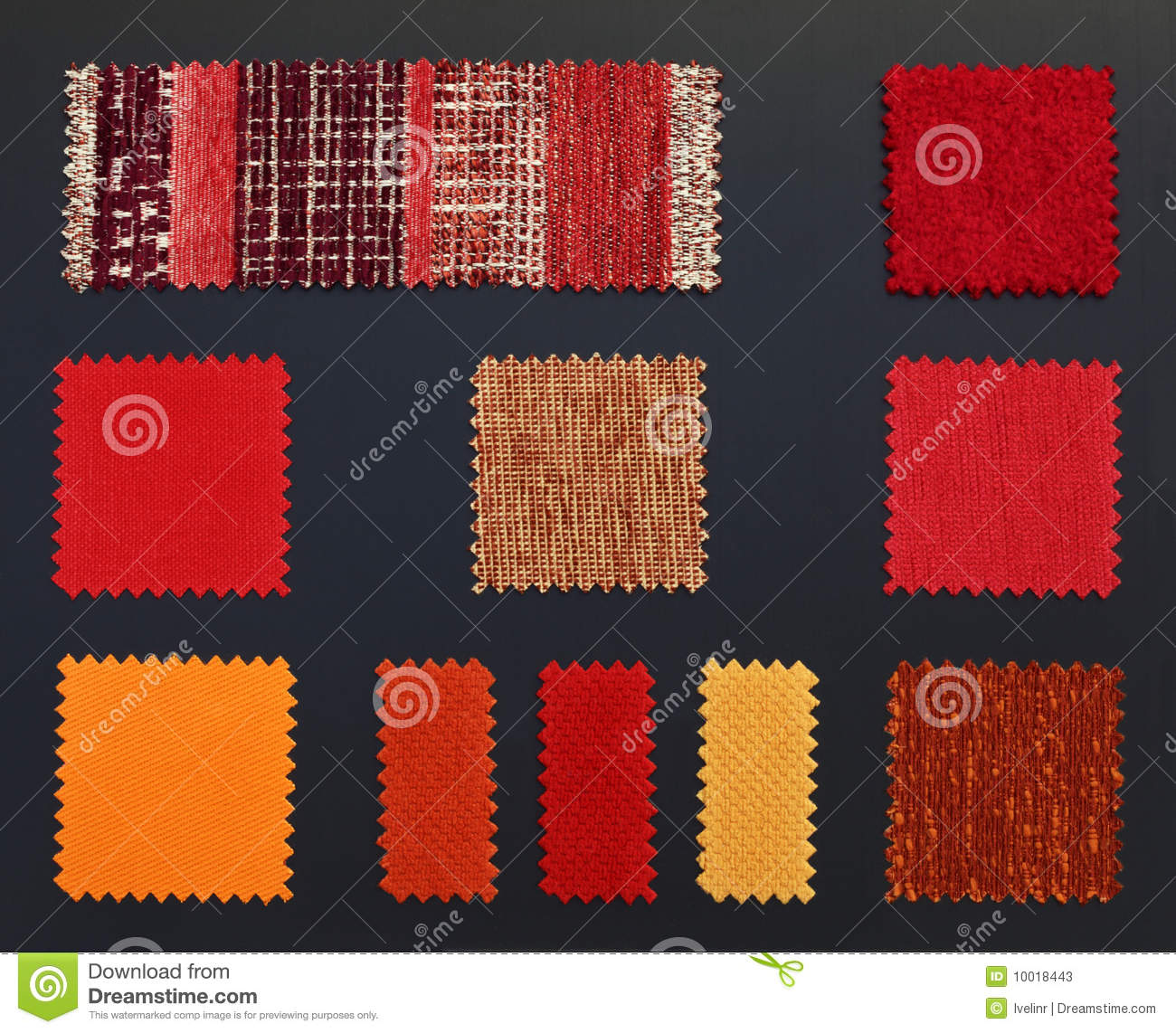 Sofa Fabric Samples Multicolored Furniture Fabric Samples Stock Image Image Of